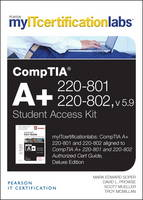 CompTIA A+ 220-801 and 220-802 Cert Guide, v5.9 MyITCertificationlab -- Access Card (Digital product license key)