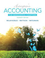 Horngren's Accounting: The Managerial Chapters (Paperback)