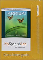 MyLab Spanish with Pearson eText -- Access Card -- for !Arriba!: comunicacion y cultura, 2015 Release (Multi-semester) (Digital product license key)