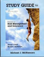 Study Guide for Principles of Risk Management and Insurance (Paperback)