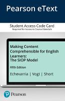 Making Content Comprehensible for English Learners: The SIOP Model, Enhanced Pearson eText -- Access Card (Digital product license key)