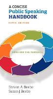 Concise Public Speaking Handbook, A -- Print Offer [Spiral Bound] (Spiral bound)