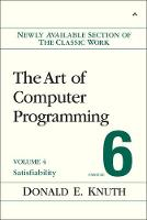 Art of Computer Programming, Volume 4, Fascicle 6, The: Satisfiability (Paperback)