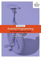 Android Programming: The Big Nerd Ranch Guide (Paperback)