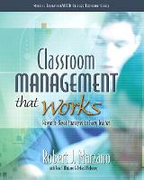 Classroom Management That Works: Research-Based Strategies for Every Teacher (Paperback)