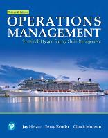Operations Management: Sustainability and Supply Chain Management (Hardback)