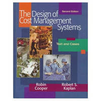 Design of Cost Management Systems (Hardback)
