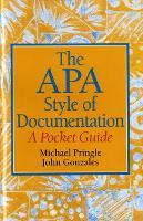 The APA Style of Documentation: A Pocket Guide (Paperback)