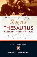 Roget's Thesaurus of English Words and Phrases (Hardback)