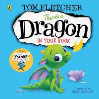 There's a Dragon in Your Book - Who's in Your Book? (Board book)