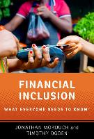 Financial Inclusion: What Everyone Needs to Know (R) - What Everyone Needs to Know (Paperback)