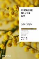 Australian Taxation Law 2016 (Paperback)