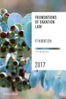 Foundations of Taxation Law 2017 (Paperback)