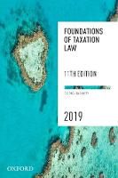 Foundations of Taxation Law 2019 (Paperback)