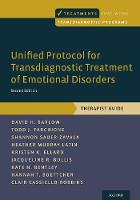Unified Protocol for Transdiagnostic Treatment of Emotional Disorders: Therapist Guide - Treatments That Work (Paperback)