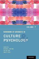 Handbook of Advances in Culture and Psychology, Volume 7 - Advances in Culture and Psychology (Hardback)