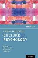 Handbook of Advances in Culture and Psychology, Volume 7 - Advances in Culture and Psychology (Paperback)
