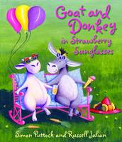 Goat and Donkey in Strawberry Sunglasses (Paperback)