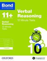 Bond 11+: Verbal Reasoning: 10 Minute Tests: 7-8 years - Bond 11+ (Paperback)
