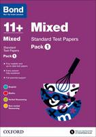Bond 11+: Mixed: Standard Test Papers: Pack 1 - Bond 11+ (Paperback)