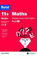 Bond 11+: Maths: Multiple-choice Test Papers: Pack 1 - Bond 11+ (Paperback)