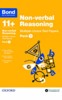 Bond 11+: Non-verbal Reasoning: Multiple-choice Test Papers: Pack 1 - Bond 11+ (Paperback)