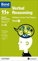 Bond 11+: Verbal Reasoning: Multiple-choice Test Papers: Pack 1 - Bond 11+ (Paperback)
