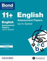Bond 11+: English: Up to Speed Papers: 9-10 years - Bond 11+ (Paperback)