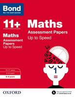 Bond 11+: Maths: Up to Speed Papers: 8-9 years - Bond 11+ (Paperback)