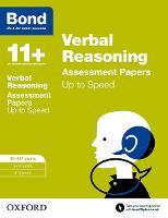 Bond 11+: Verbal Reasoning: Up to Speed Papers: 10-11+ years - Bond 11+ (Paperback)
