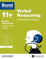 Bond 11+: Verbal Reasoning: Assessment Papers: 5-6 years - Bond 11+ (Paperback)