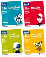Bond 11+: English, Maths, Non-verbal Reasoning, Verbal Reasoning: Assessment Papers: 7-8 years Bundle - Bond 11+