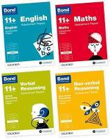 Bond 11+: English, Maths, Verbal Reasoning, Non-verbal Reasoning: Assessment Papers: 8-9 years Bundle - Bond 11+
