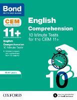 Bond 11+: CEM English Comprehension 10 Minute Tests