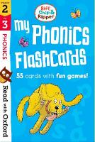 Read with Oxford: Stages 2-3: Biff, Chip and Kipper: My Phonics Flashcards - Read with Oxford
