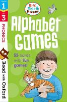 Read with Oxford: Stages 1-3: Biff, Chip and Kipper: Alphabet Games Flashcards - Read with Oxford