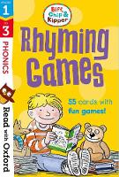 Read with Oxford: Stages 1-3: Biff, Chip and Kipper: Rhyming Games Flashcards - Read with Oxford