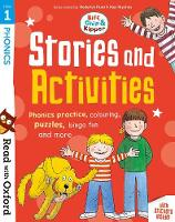 Read with Oxford: Stage 1: Biff, Chip and Kipper: Stories and Activities: Phonics practice, colouring, puzzles, bingo fun and more - Read with Oxford