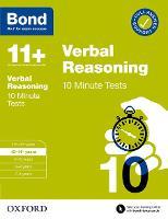 Bond 11+: Bond 11+ 10 Minute Tests Verbal Reasoning 10-11 years