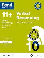 Bond 11+: Bond 11+ 10 Minute Tests Verbal Reasoning 9-10 years
