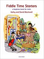 Fiddle Time Starters + CD: A beginner book for violin - Fiddle Time (Sheet music)