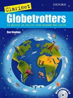 Clarinet Globetrotters + CD - Globetrotters for wind (Sheet music)
