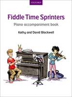 Fiddle Time Sprinters Piano Accompaniment Book - Fiddle Time (Sheet music)