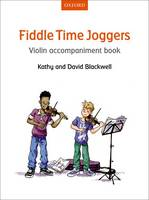Fiddle Time Joggers Violin Accompaniment Book - Fiddle Time (Sheet music)