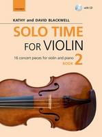 Solo Time for Violin Book 2 + CD: 16 concert pieces for violin and piano - Fiddle Time (Sheet music)