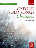 Oxford Solo Songs: Christmas: 14 songs with piano (Sheet music)