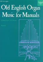 Old English Organ Music for Manuals Book 6 (Sheet music)