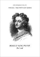 Behold, now praise the Lord - Church Music Society publications (Sheet music)