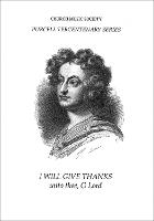 I will give thanks unto Thee, O Lord - Church Music Society publications (Sheet music)