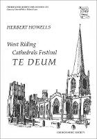 West Riding Festival Te Deum - Church Music Society publications (Sheet music)